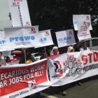 7 октября по всему миру прошли акции профсоюзов IndustriALL