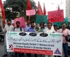 Пакистан: Уволенные рабочие Schneider Electric требуют восстановления
