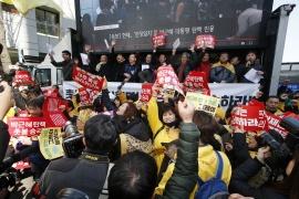 Корея: импичмент президента Пак – победа для профсоюзов