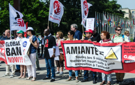 В фокусе кампании IndustriALL против асбеста – Роттердамская конвенция