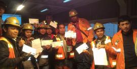 Freeport увольняет бастующих рабочих шахты Грасберг в Индонезии