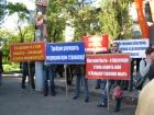 Украинские шахтеры продолжают протестовать, требуя повышения зарплаты