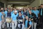 Турецкие стекольщики, протестуя против запрета на забастовку, остаются после смен на заводах