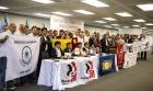 Рабочие резиновой промышленности приветствуют единство на глобальном уровне