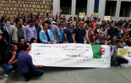 Поддержим алжирский профсоюз, ставший объектом атаки правительства!
