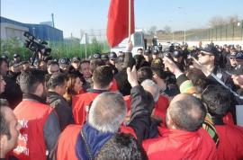 Рабочие Posco Assan полны решимости отстоять свои права
