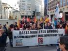 """Итальянские металлисты: """"Больше никаких смертельных случаев на работе!"""""""