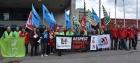 Профсоюзы со всего мира требуют у LafargeHolcim выполнить своё обязательство в отношении ГРС