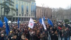 Грузинские работники требуют безопасных условий труда