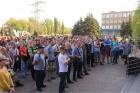Украина: работники ArcelorMittal борются за свои права