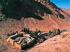 Краткая история Синайской Архиепископии