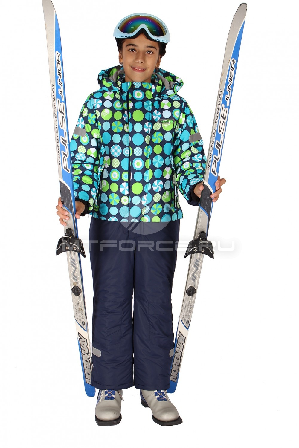 Комбинезон горнолыжный для девочек