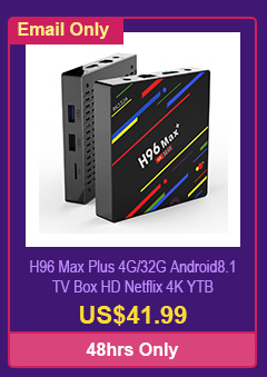 H96 Max Plus 4G/32G Android8.1 TV Box HD Netflix 4K YTB