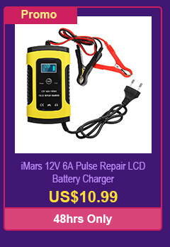 iMars 12V 6A Pulse Repair LCD Battery Charger
