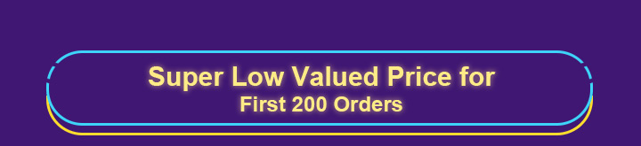 first 200 orders