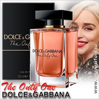 dolce gabbana the only one 1