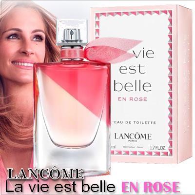 lancome la vie est belle en Rose 1