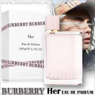 burberry her eau de parfum 1