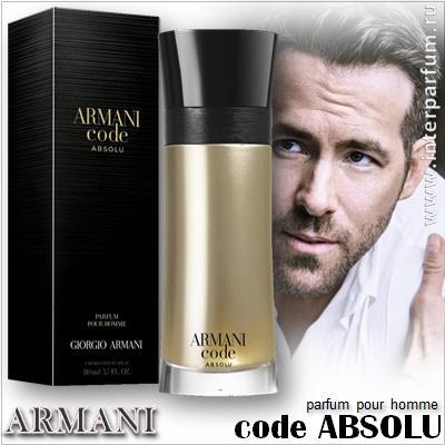 armani code absolu pour homme 1