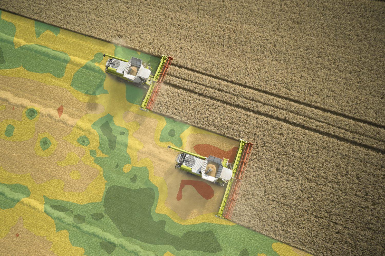 Карты урожайности