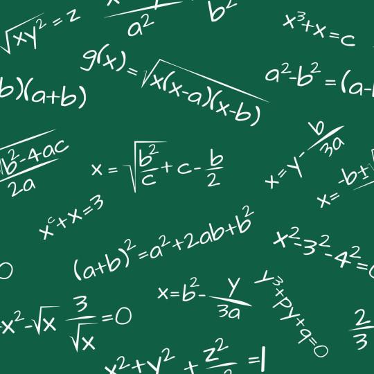 Открытка на день математики