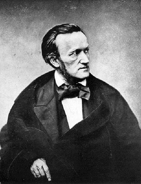 Композитор Рихард Вагнер, 1861 год. | Фото: commons.wikimedia.org.