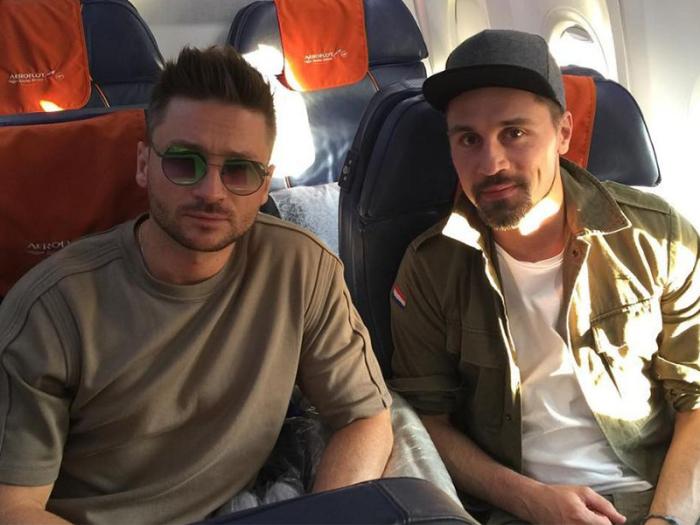 Сергей Лазарев и Дима Билан. / Фото: www.peopletalk.ru