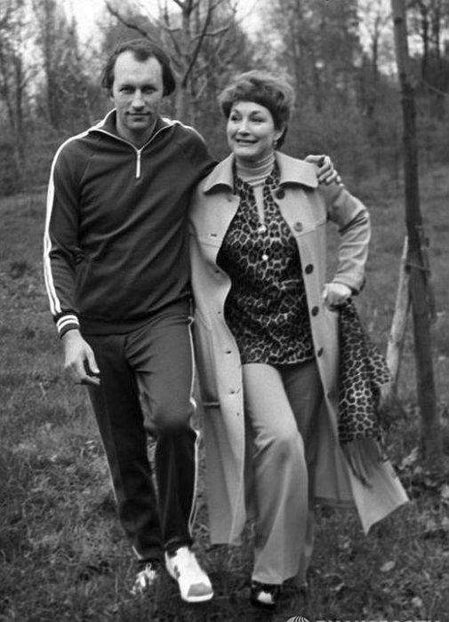 Людмила Хитяева и Валерий Леонтьев. / Фото: из личного архива Л.Хитяевой