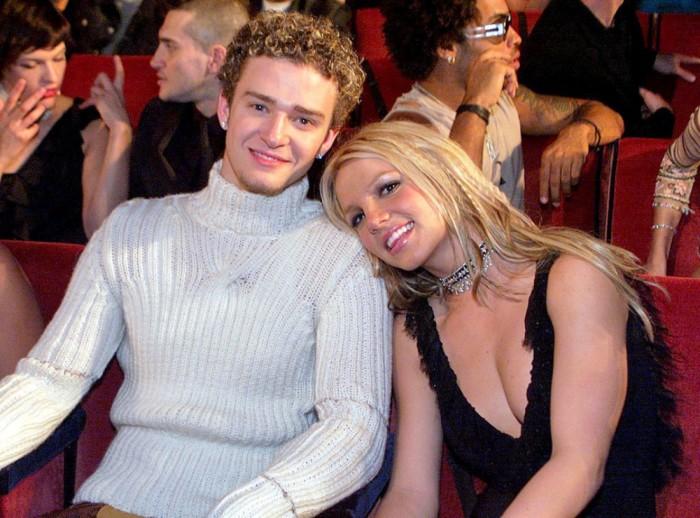 Джастин Тимберлейк и Бритни Спирс. / Фото: www.cachicha.com