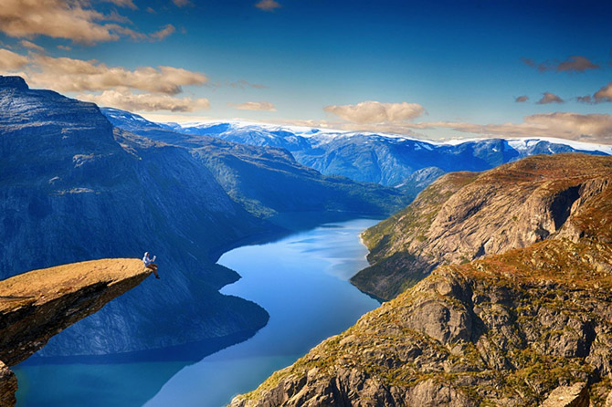 Главные достопримечательности Норвегии (21 фото)
