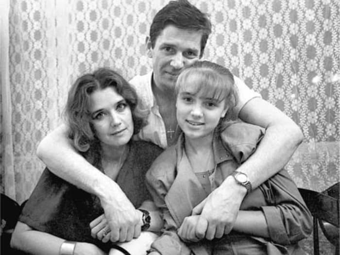 Александр Абдулов, Ирина Алферова и ее дочь Ксения | Фото: factroom.ru
