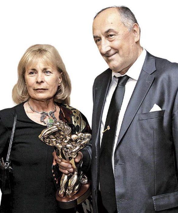 Борис Клюев с женой. / Фото: www.sb.by
