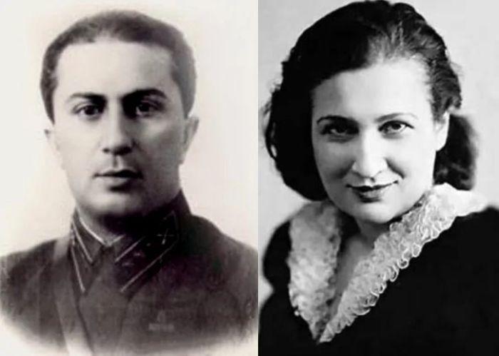 Яков Джугашвили и Юлия (Юдифь) Мельцер.