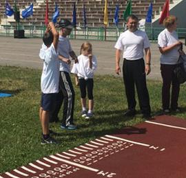 Липецкие активисты «Единой России» организовали фестиваль ГТО для людей с ограниченными возможностями здоровья