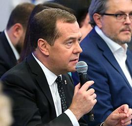 Инициатива «Единой России» наладить диалог с социальными НКО получила поддержку Медведева