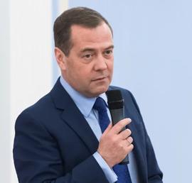 Медведев провел встречу с активом местных и первичных отделений Партии