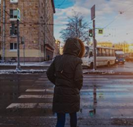 Партпроект «Единой России» помог добиться безопасного дорожного движения у гипермаркета в Тамбове