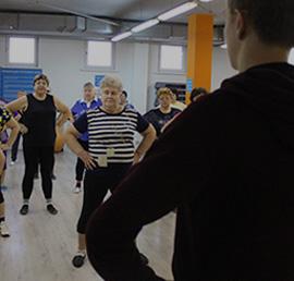 В Тамбове при поддержке «Единой России» проводятся спортивные занятия для пенсионеров