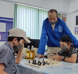 В Ножай-Юрте в рамках проекта «Детский спорт» прошел турнир по шахматам