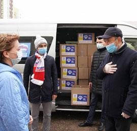 В Башкортостане «Единая Россия» запустила акцию «С заботой о врачах»