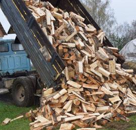 Многодетную семью из Смоленской области обеспечили дровами на зиму