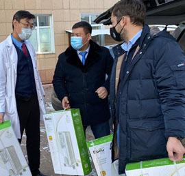 Александр Якубовский обеспечил медиков в Иркутской области обогревателями и мобильными телефонами