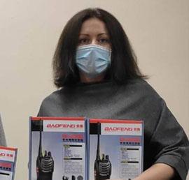 Тульские единороссы передали рации для нужд инфекционного госпиталя