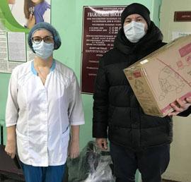 Велотренажеры для реабилитации пациентов получили медики Кыштыма Челябинской области