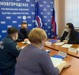 В Новгородской области по инициативе «Единой России» в квартирах и домах малоимущих установят пожарные извещатели