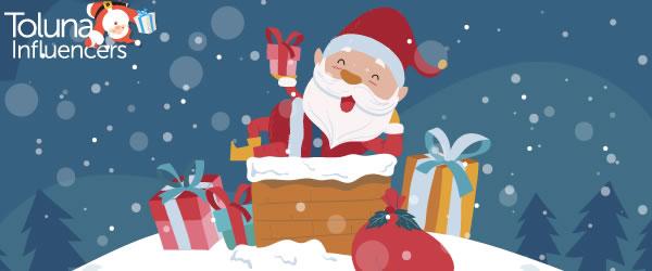 Дед Мороз делает снег