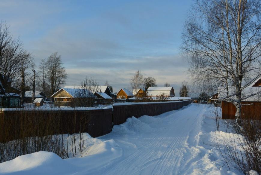 В Костромской области похолодает до минус 32: важно проверить печное отопление и электропроводку в жилых домах. фото СМИ44