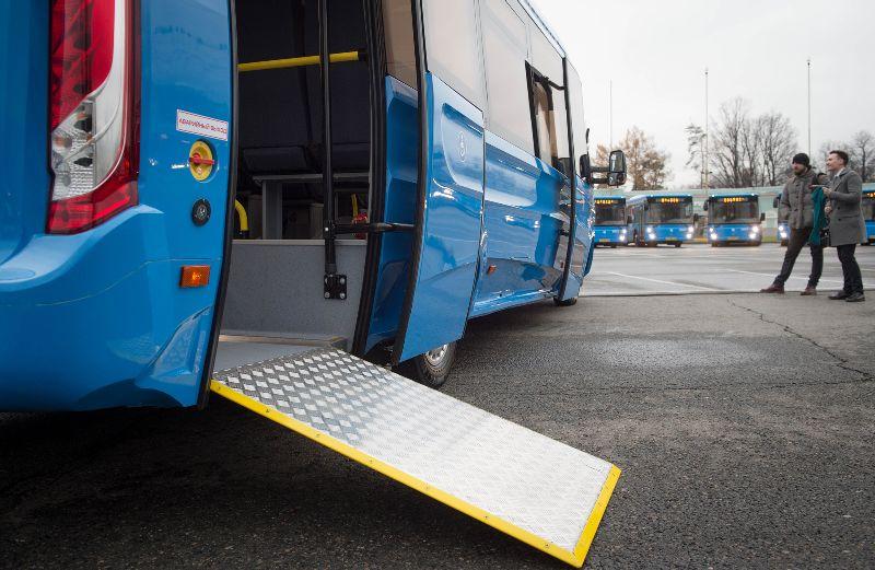 Инвалиды оценят новшества общественного транспорта Москвы