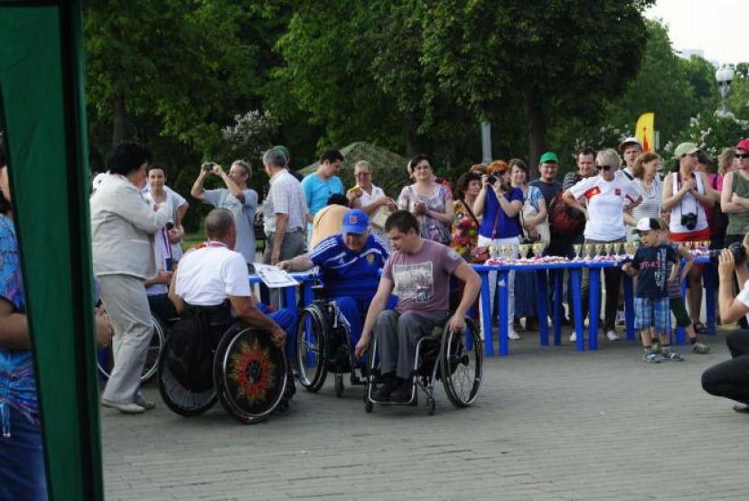 29 октября Социальный спортивный фестиваль «Паралимпийская миля» для особенных людей