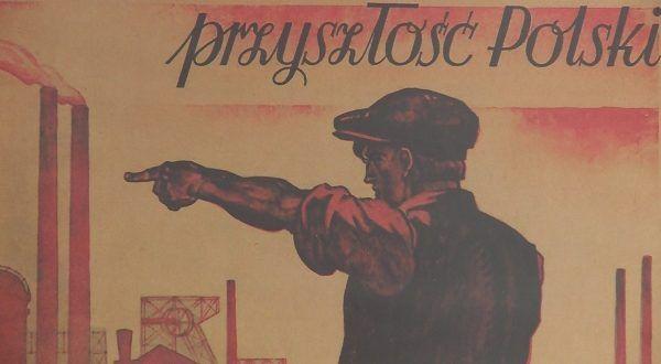 Будущее Польши на Западе ... вопрос по какой цене?  (фрагмент плаката с первых лет Народной Польши).